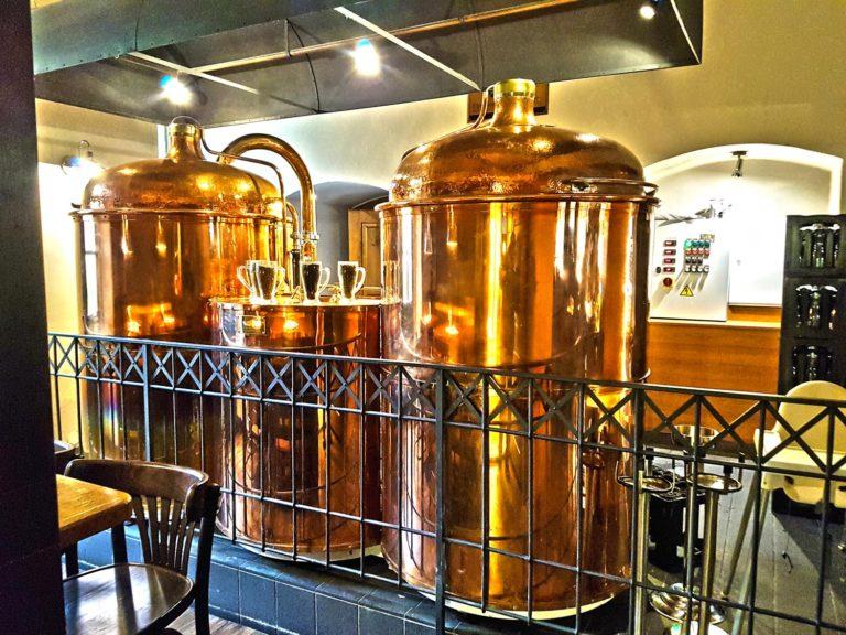 Výsady sládka pivovaru Národní: Pivo vaří v barokním areálu kláštera a má jednu pražskou raritu