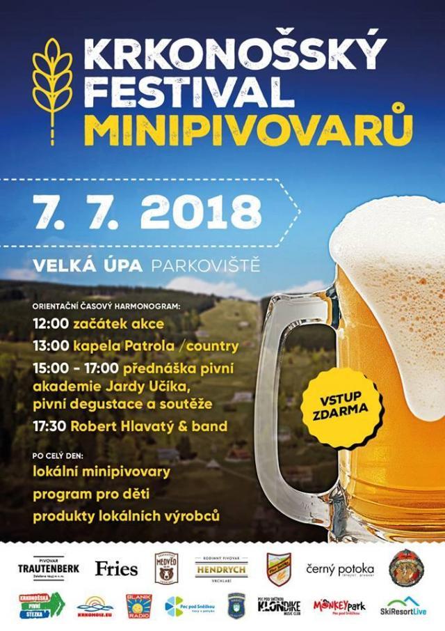 Krkonošský festival minipivovarů