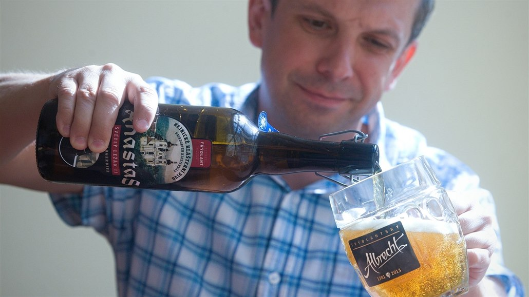 Klášter v Hejnicích má vlastní pivo, jmenuje se po mnichovi