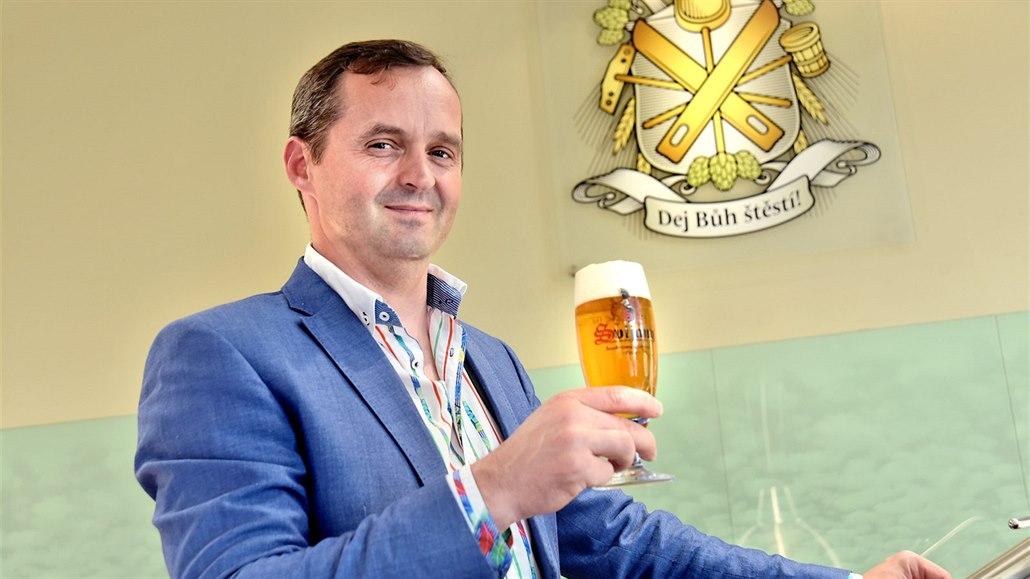 Učíme pít naše pivo Chorvaty i Němce, říká ředitel pivovaru Svijany
