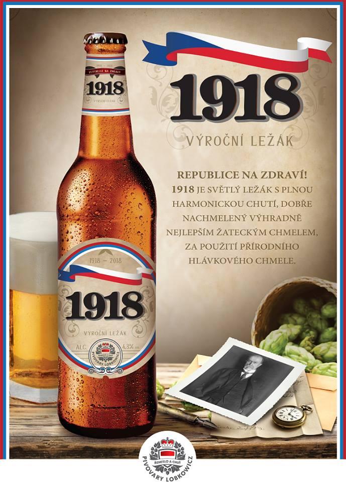 Speciály Lobkowicz - Výroční ležák 1918