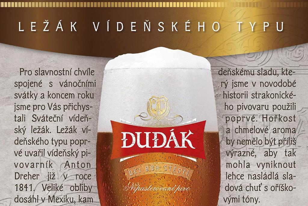 Obrovský úspěch mělo vánoční pivo, pochvaluje si vedení Dudáka