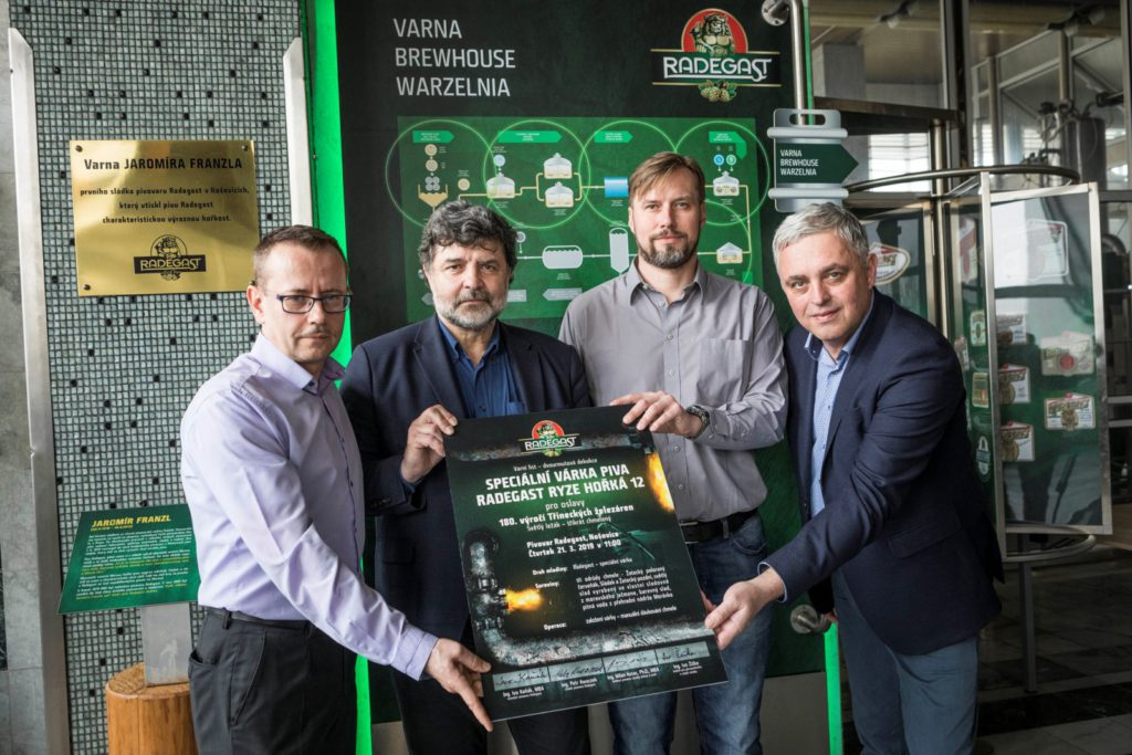 Radegast uvaří pivo na oslavu 180 let Třineckých železáren
