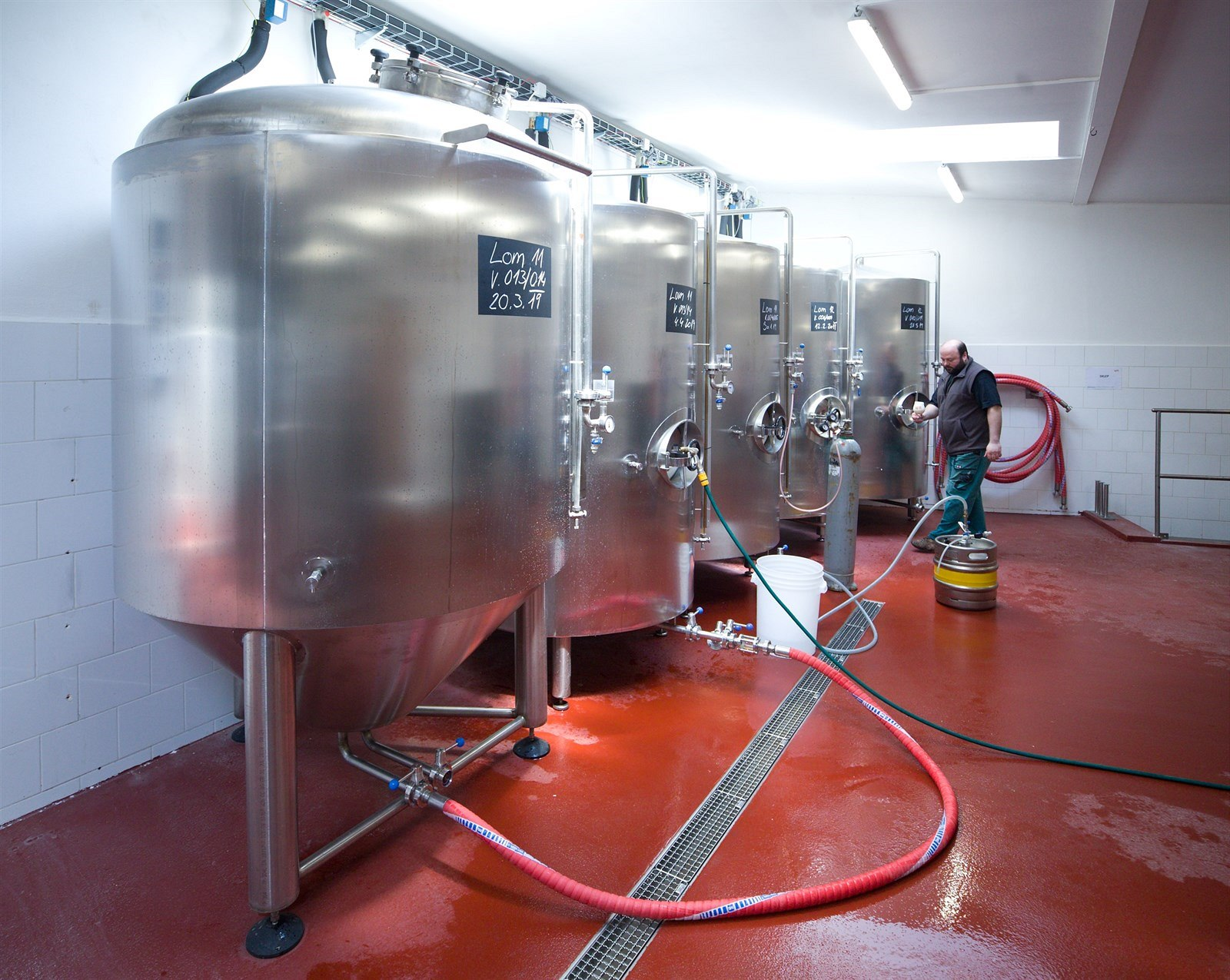 Pivovar v Lomnici povstal po 60 letech. Pivo proniklo i do mongolské jurty