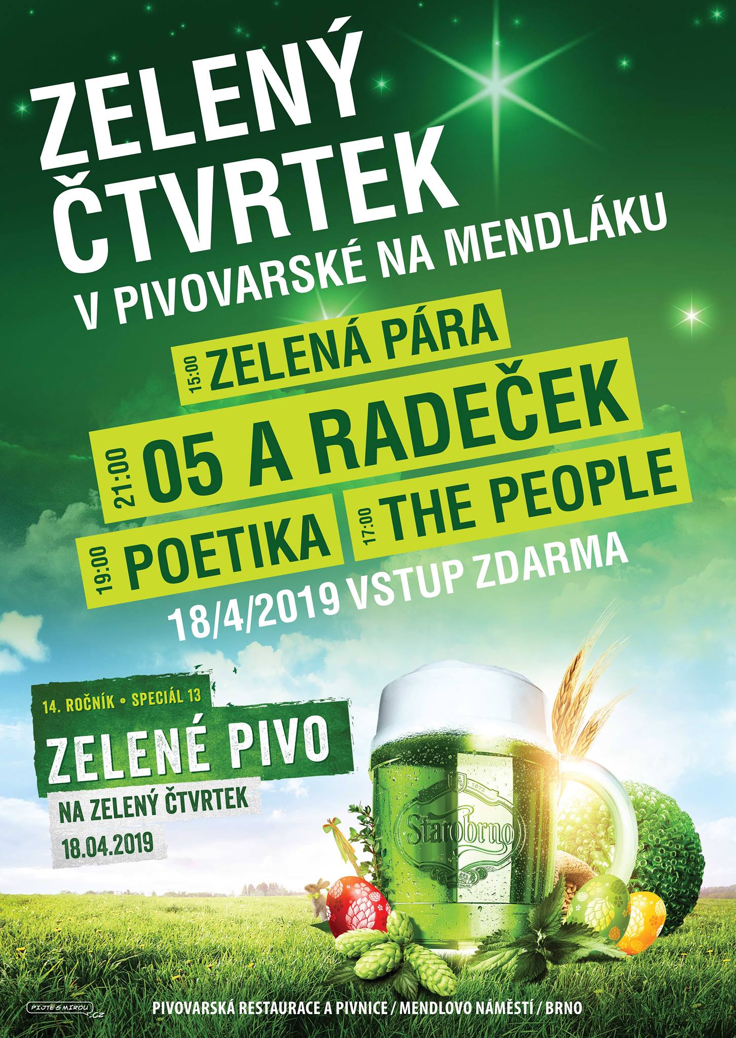 pivovari-pivovary-pivni-akce-zeleny-ctvrtek-v-pivovarske-na-mendlaku-2019