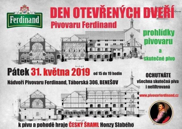 pivovari-pivovary-pivni-akce-pivovar -ferdinand-zve-na-den-otevrenych-dveri-2019