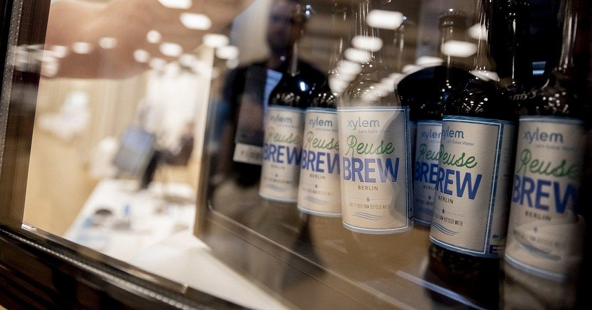Německá firma uvařila pivo z odpadní vody