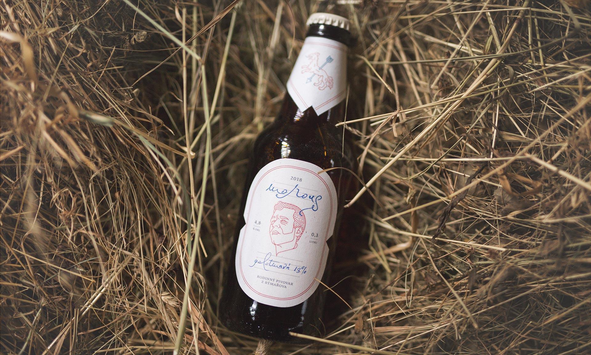 České pivo Morous získalo další ocenění za design s mračícím se sládkem