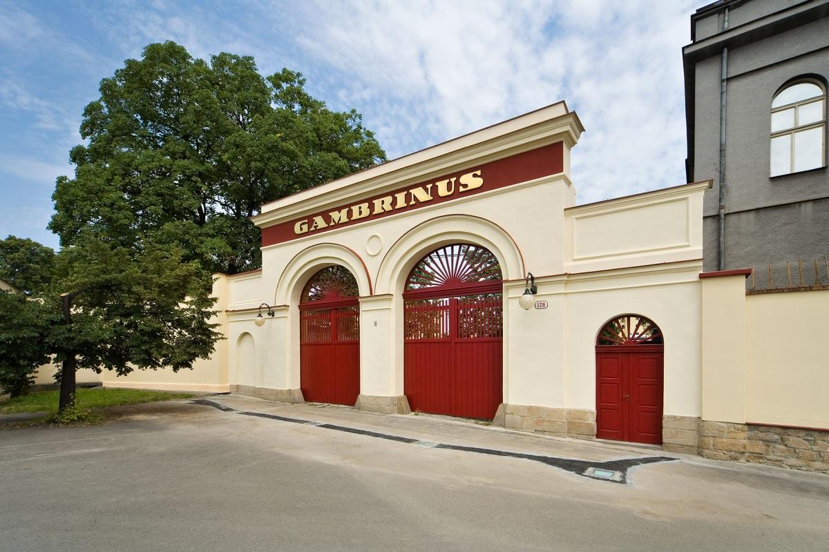 Gambrinus: Pivovar se zkomoleným jménem patrona hodokvasu vaří pivo už 150 let