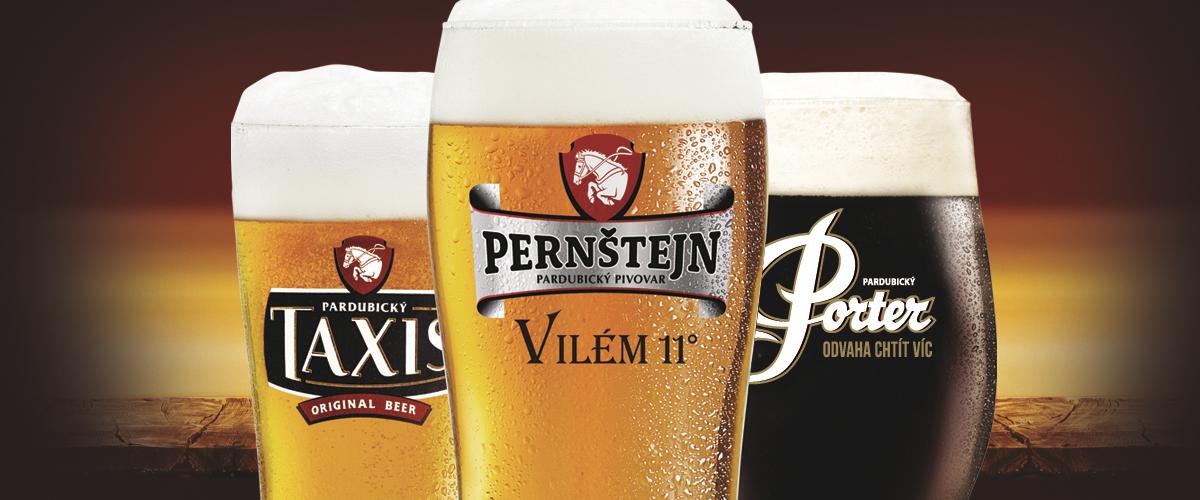 Pivní dvojka posiluje. Staropramen koupil řemeslná piva Pernštejn i Porter