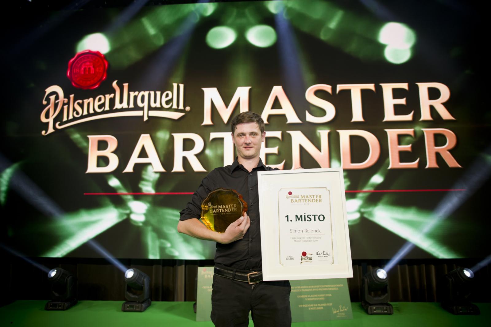 Nejlepším výčepním plzeňského piva za rok 2019 se stal Simon Balonek