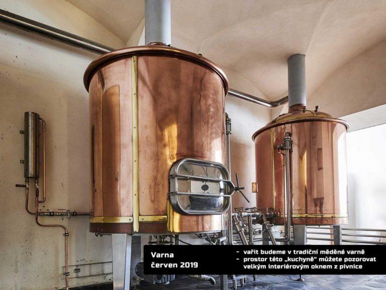 Pivo uvaří poprvé ve svém. V Novém Boru otevře parta nadšenců minipivovar