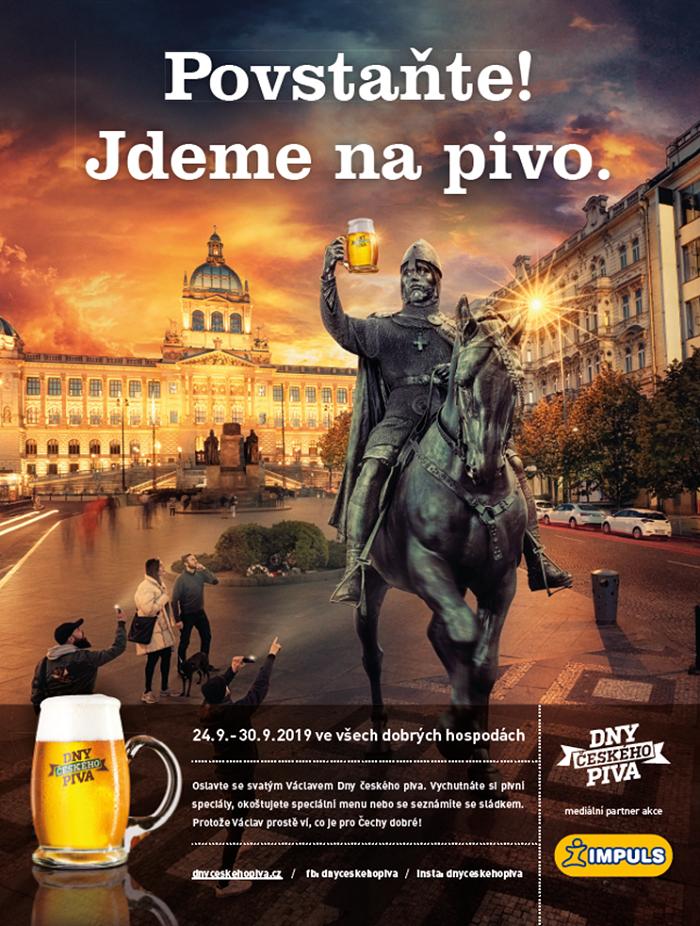 Dny českého piva doprovází nová kampaň