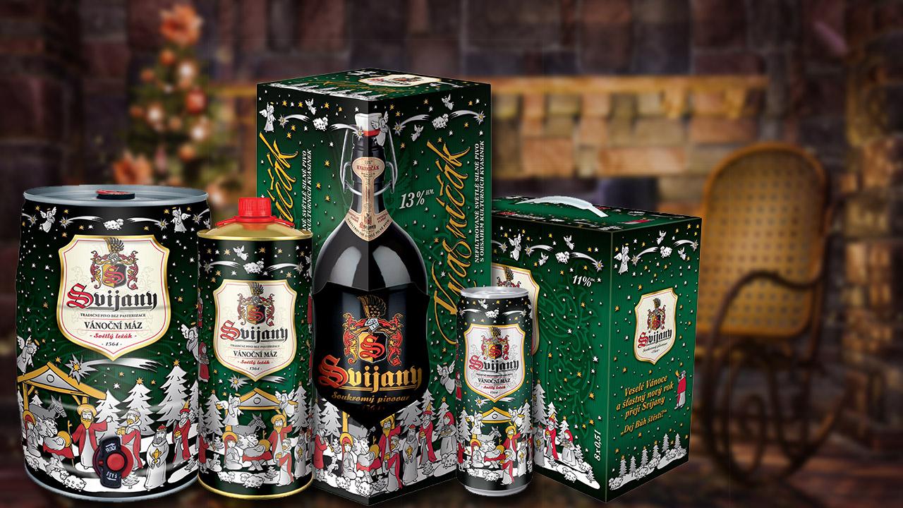 Na Vánoce pivo s betlémskou hvězdou