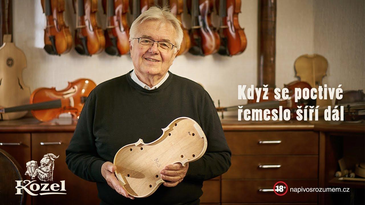 Velkopopovický Kozel se v kampani věnuje houslistům