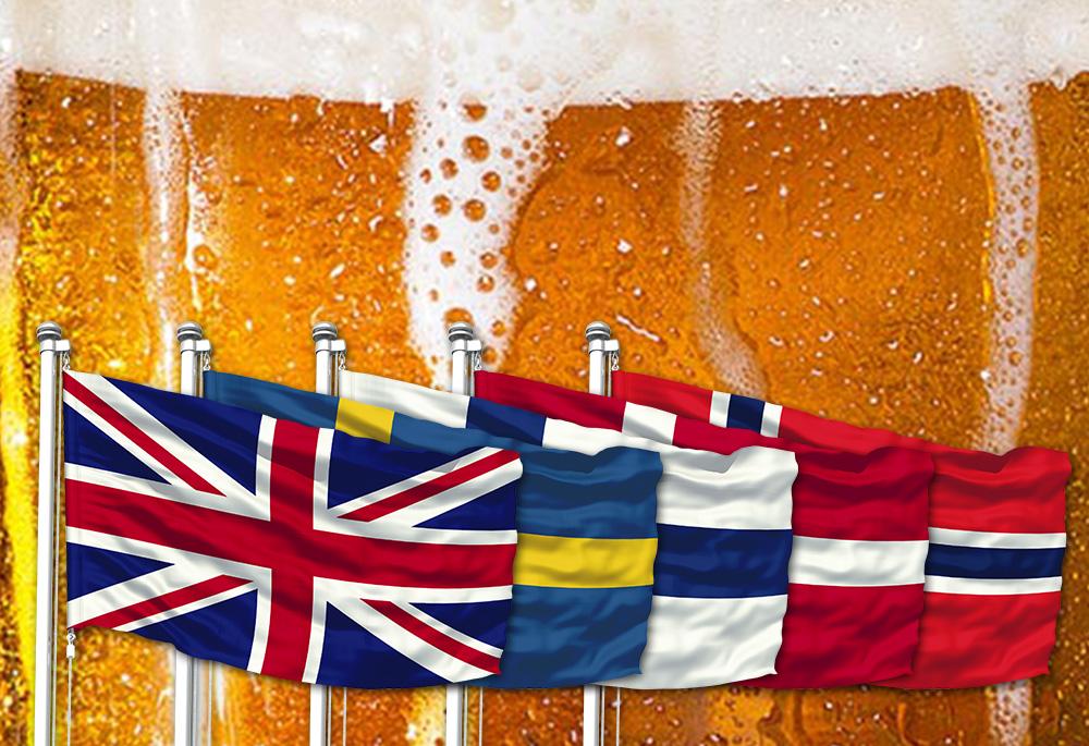 Exportujte pivo do VELKÉ BRITÁNIE A SKANDINÁVIE