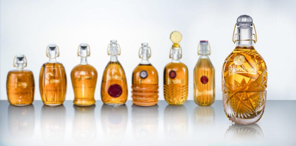 Charitativní dražba designových lahví Pilsner Urquell letos Centru Paraple vynesla bezmála 2,1 milionu korun