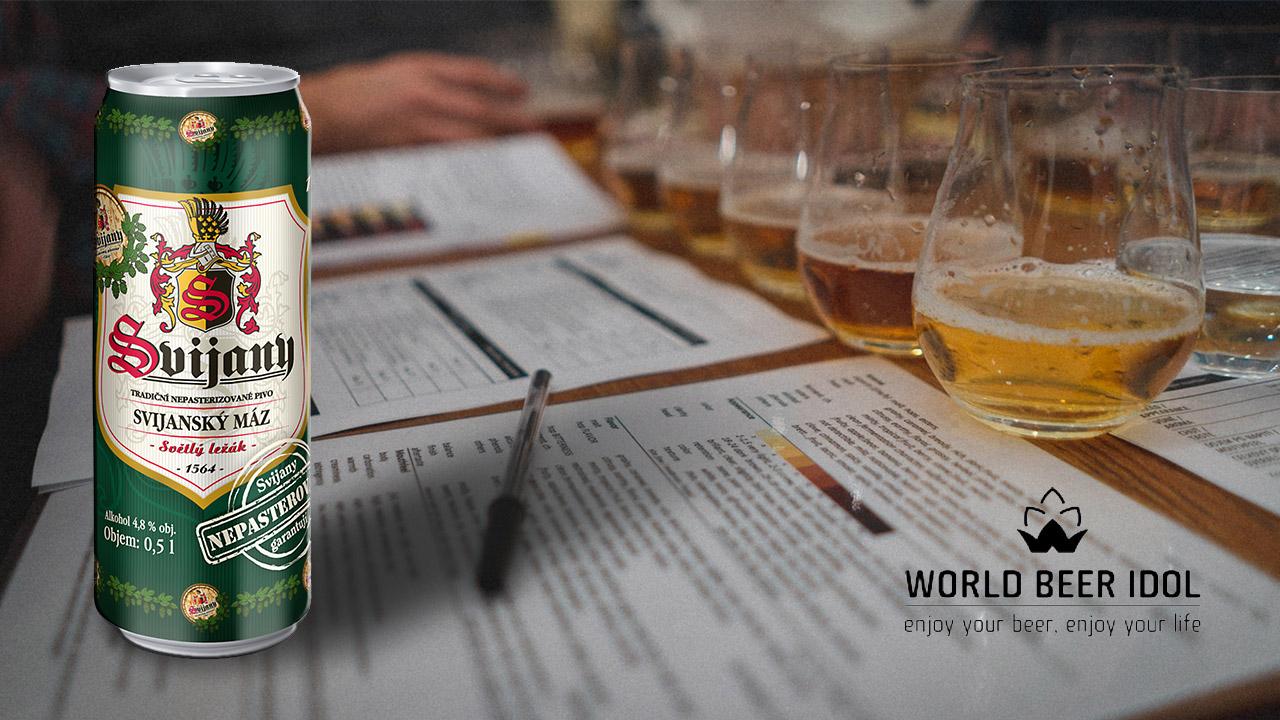 Svijanský Máz letošním nejlepším světovým pivem plzeňského typu