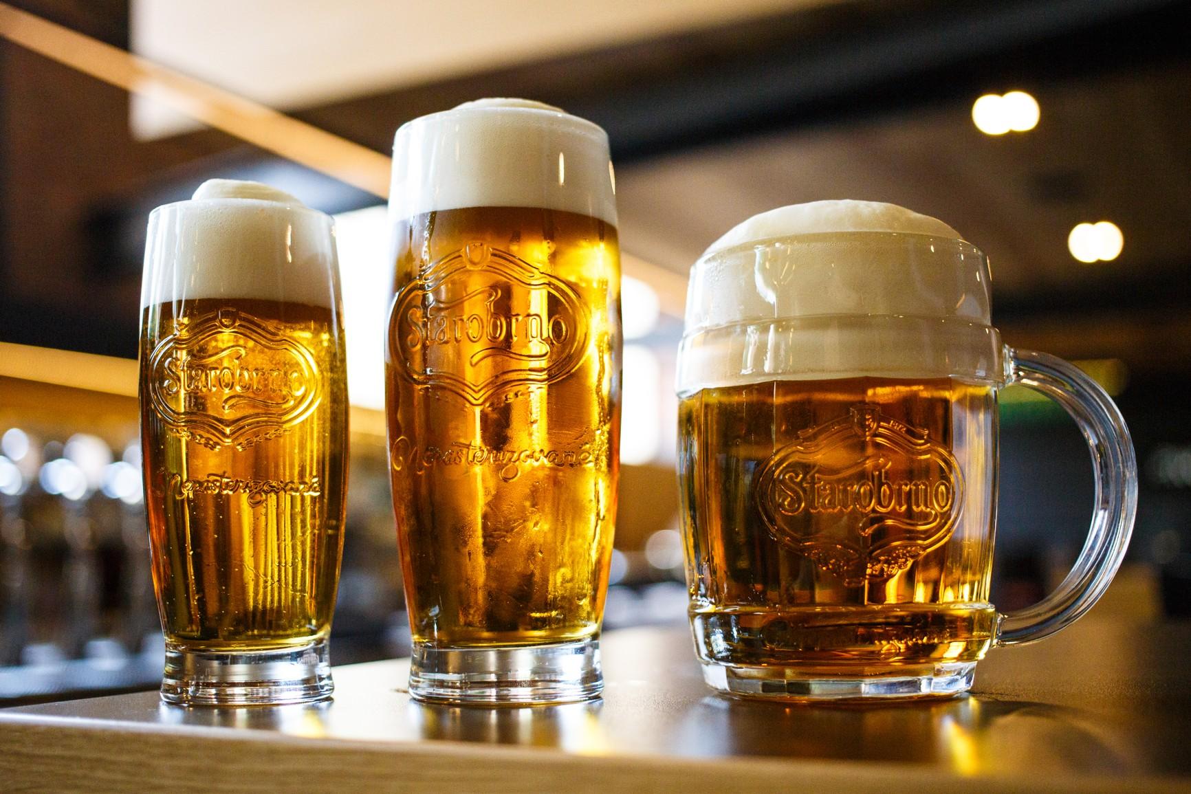 Starobrno představilo tři druhy řemeslného piva