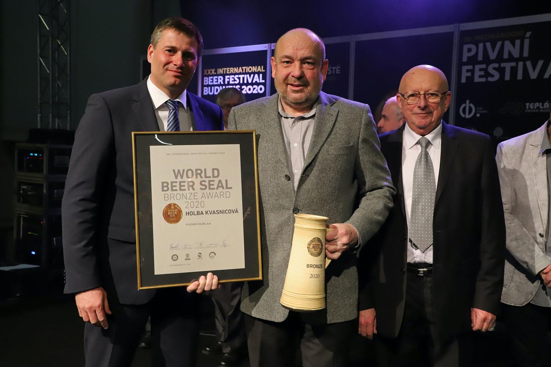 Pivo Holba Kvasnicové zazářilo na Mezinárodním pivním festivalu