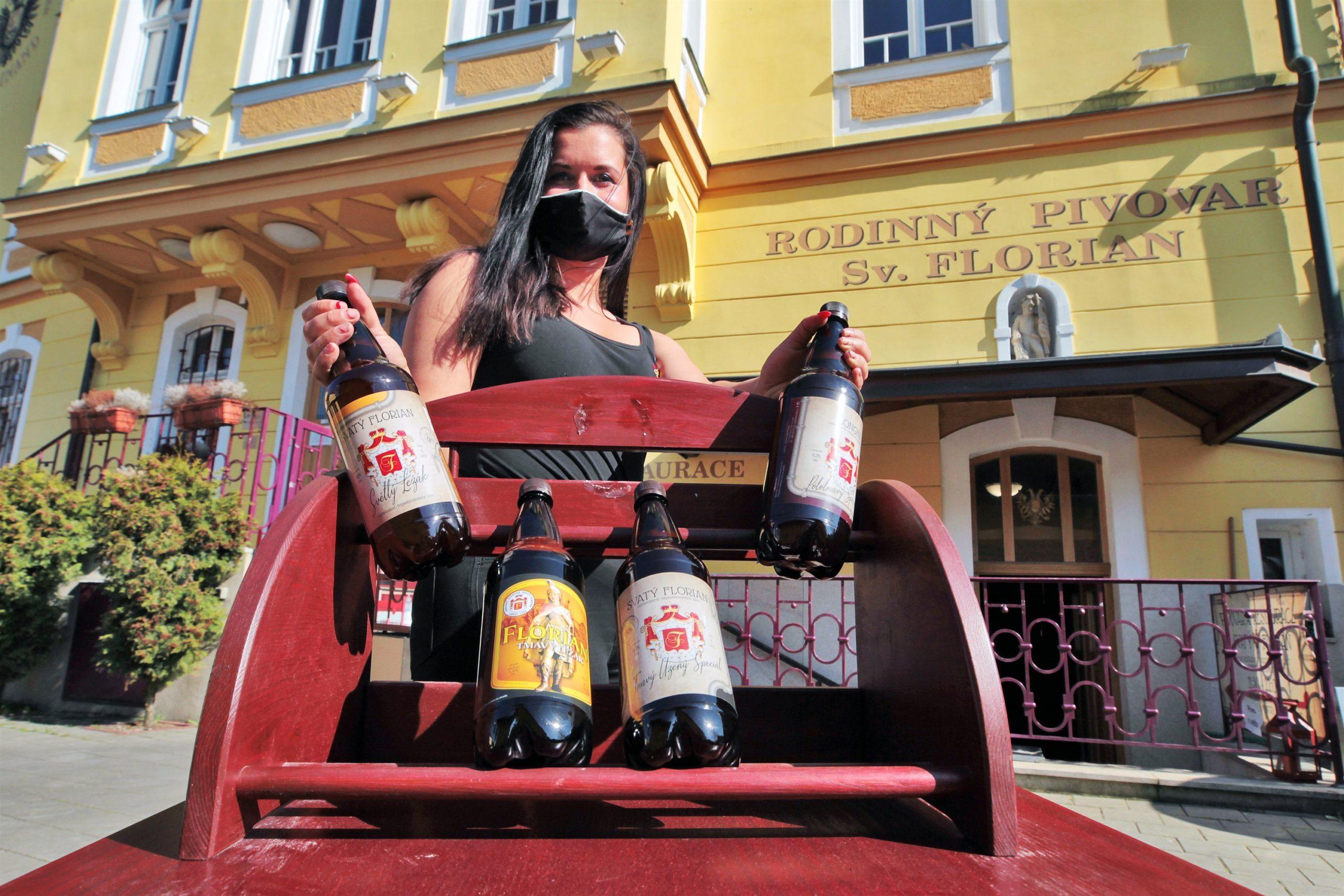 Ve sklepích mají plné sudy, pivo prodávají v e-shopu i přes sociální sítě