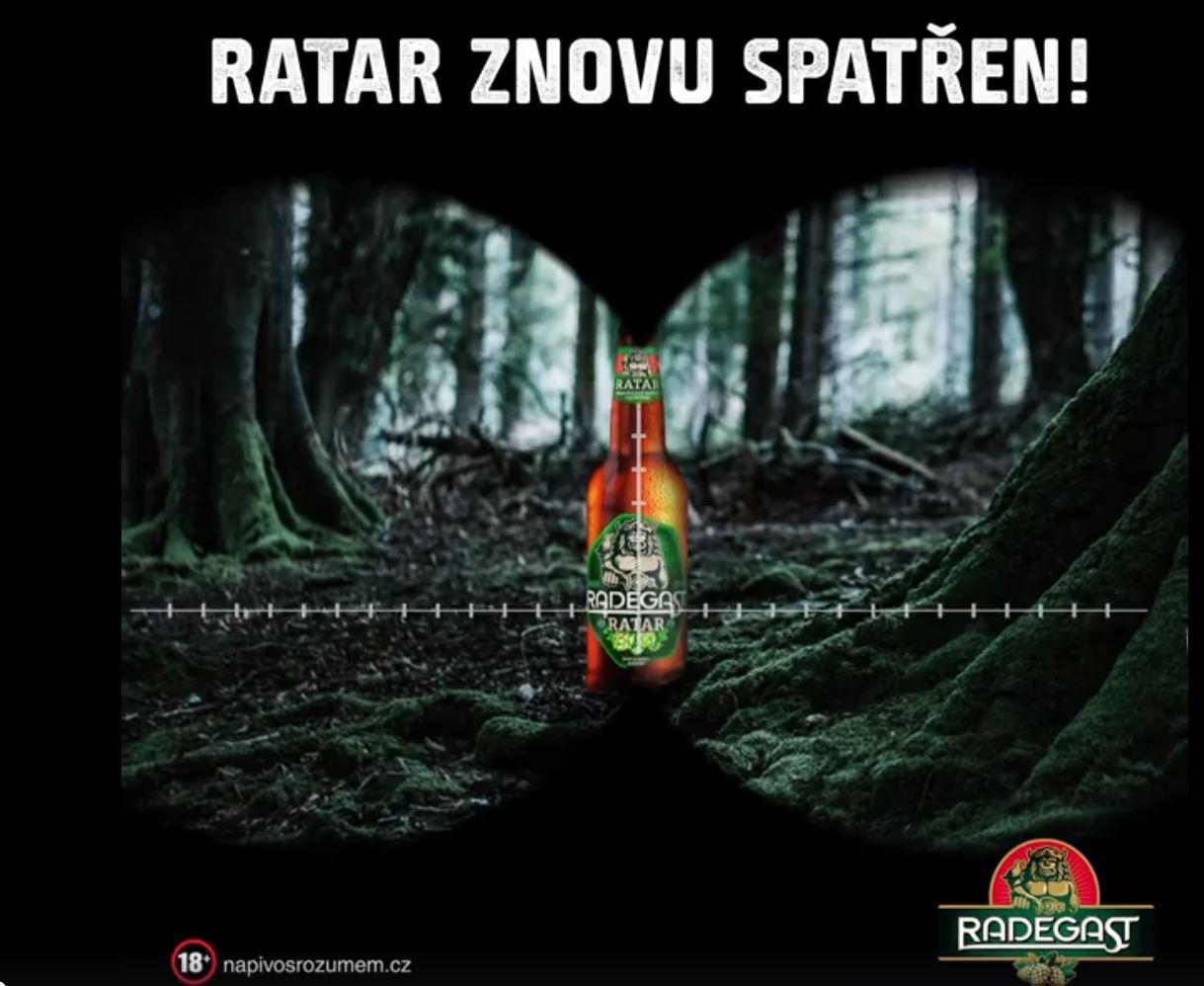 Spot pro Ratar, nejvíc hořké pivo Radegastu, uvařil Boomerang za několik dní