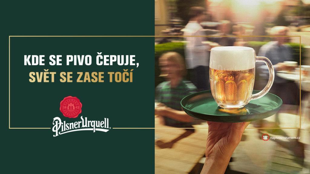 První pivo je na nás: Pilsner Urquell podpoří hospody největší akcí v historii pivovaru