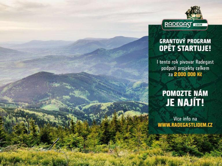 Pivovar Radegast podpoří regionální projekty částkou až 2 miliony korun