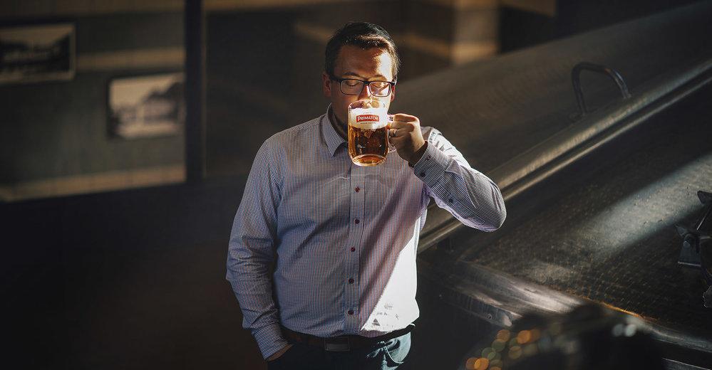 Guláš si s čajem nedáte. Pivo je fenomén, který si Češi vzít nedají, říká šéf pivovaru PRIMÁTOR